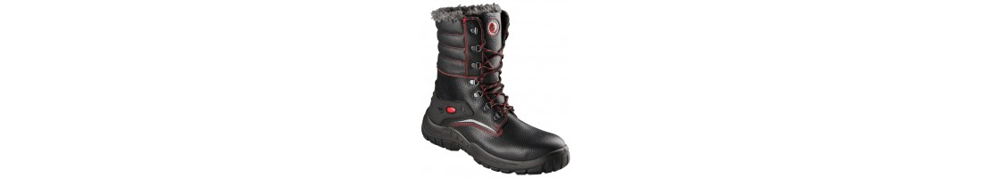 Siltie darba zābaki, siltie šņorzābaki, ziemas darba apavi, ziemas zāb