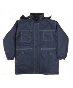 ziemas pagarinātā jaka, silto kapuci un silto sintepona oderi.