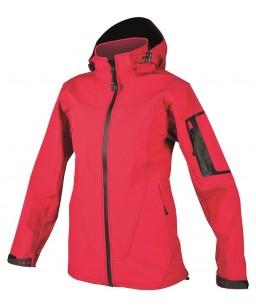 Softshell sieviešu jaka ANIMA, sarkana
