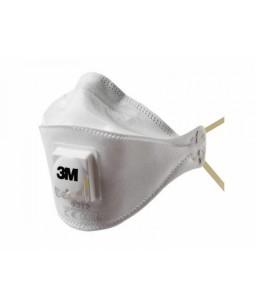 Putekļu maska/respirators FFP1 3M ar vārstu
