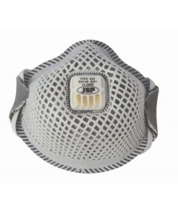 Putekļu maska/respirators FFP2 ar aktīvo ogli un vārstuli