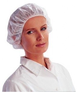 Cepures polipropilēna baltās